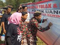 Bawaslu Gelar Deklarasi Desa Anti Politik Uang di Sleman