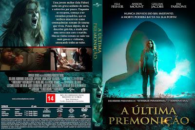 Filme A Última Premonição (Visions) DVD Capa