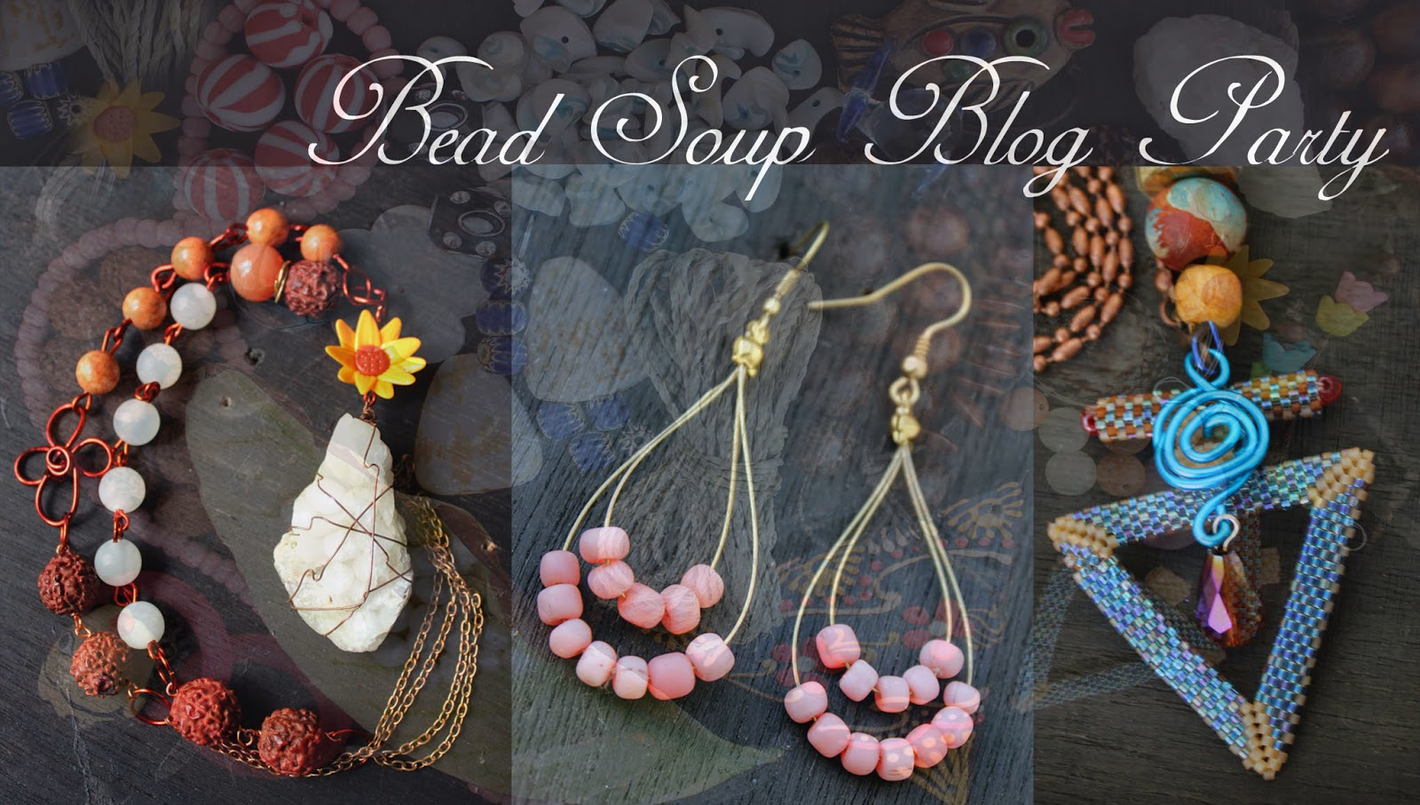 Bead soup jewelry