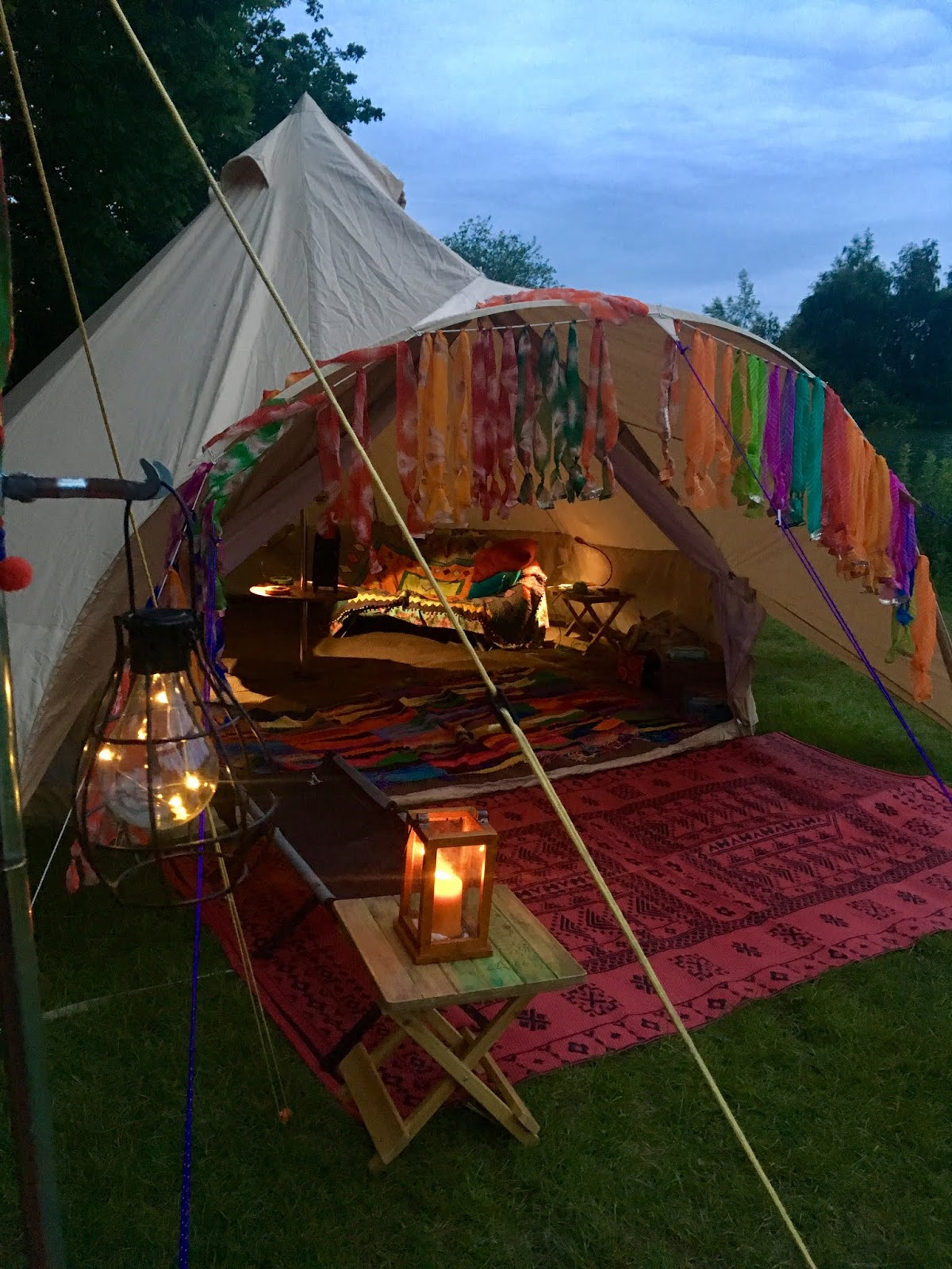 reputable site c3907 f3518 Bells & Labs: REVIEW: Star Bell Tent from Boutique Camping