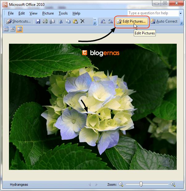 Cara Merubah Ukuran Gambar dengan Office Picture