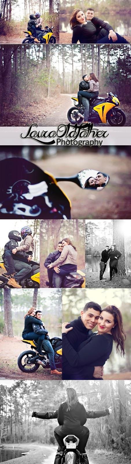 casal motoqueiro
