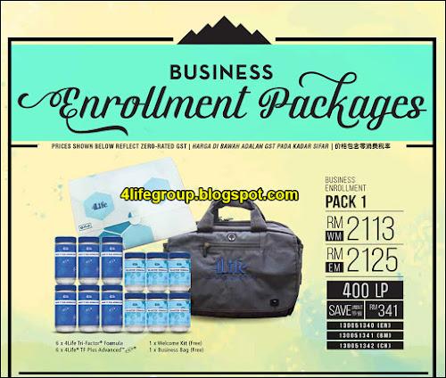 foto Pek Business Enrollment 1 4Life Malaysia