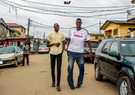 Meet The Tallest Model Men In Nigeria (pics)