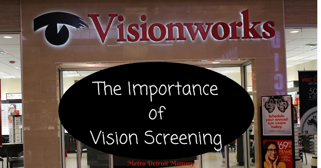 The Importance of vision screening, ends of the year benefits