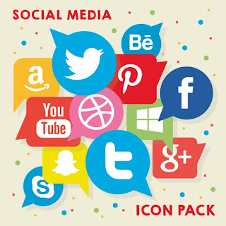 Logo-logo atau Icon Social Media
