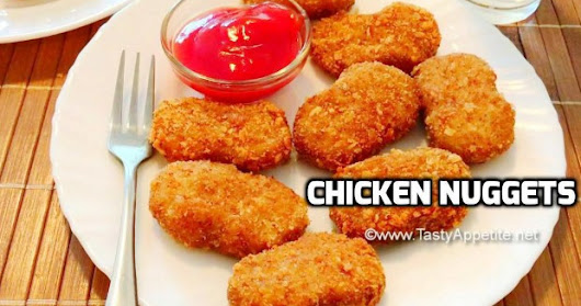 Chicken Nuggets Recipe / Crispy Chicken Nuggets / How to make Chicken Nuggets At Home