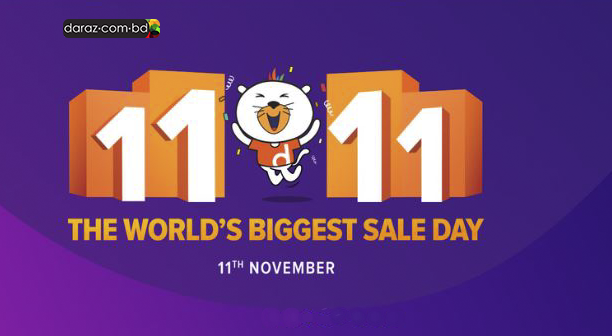 daraz.com.bd sales day 11 November 2018 11 takay mobile