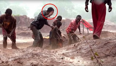 Miris, Kehidupan Anak 4 Tahun yang Menjadi Buruh Tambang
