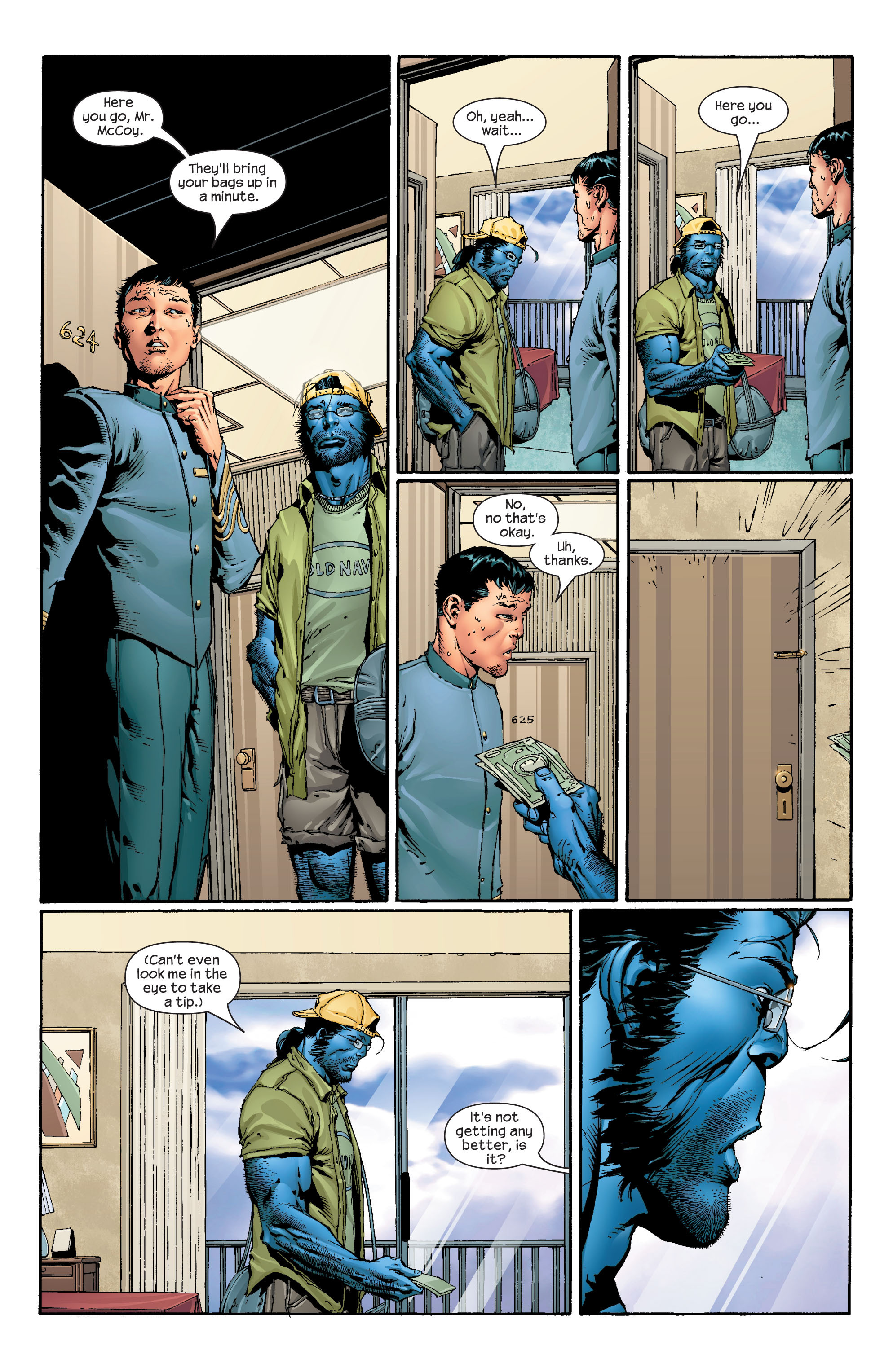 Read online Ultimate X-Men comic -  Issue #43 - 9