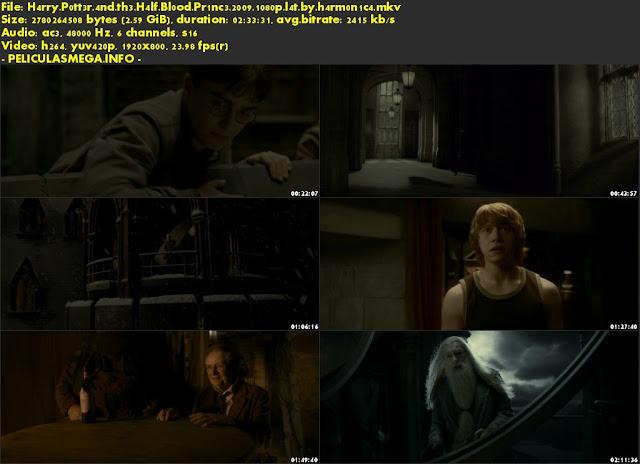 Descargar Harry Potter y el misterio del príncipe Latino por MEGA.