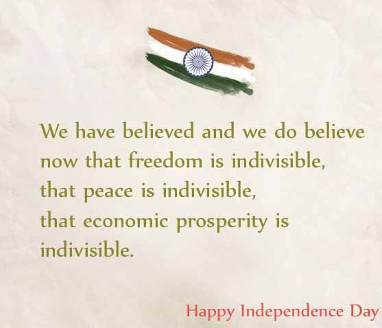 Heart Touching Independence Day Quotes In English Independence Day