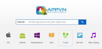 Tải Appvn 5.0 miễn phí về máy điện thoại Android 1