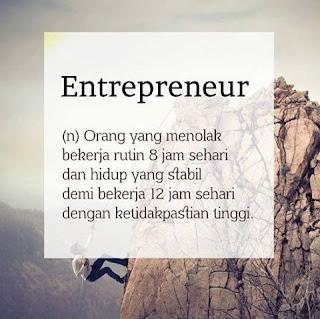 kenyataan jadi pengusaha, pengusaha sesungguhnya, perjuangan menjadi pengusaha, renungan pengusaha pemula, pengusaha pemula, budi satria isman