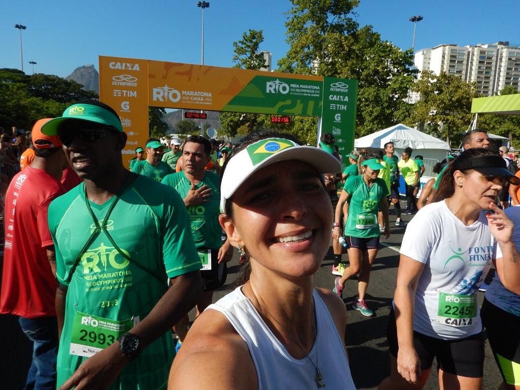 Meia Maratona do Rio Chegada