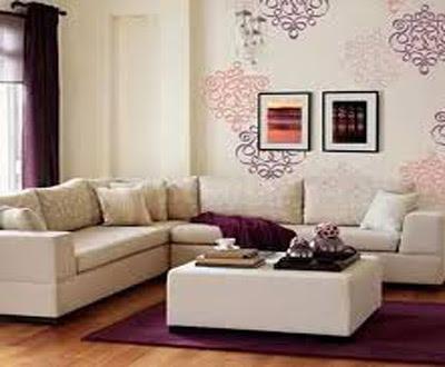 rumah sederhana dengan ruang tamu bagus