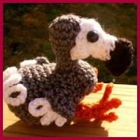 Pájaro Dodo amigurumi