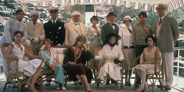 The cast of Death on the Nile (1978)