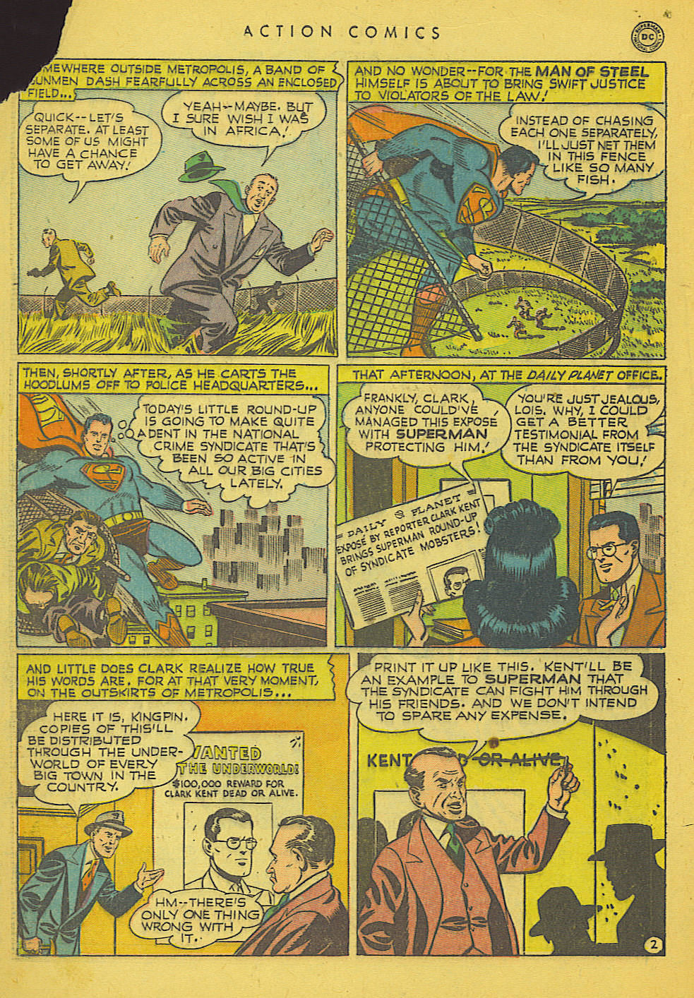 Action Comics (1938) 153 Page 2