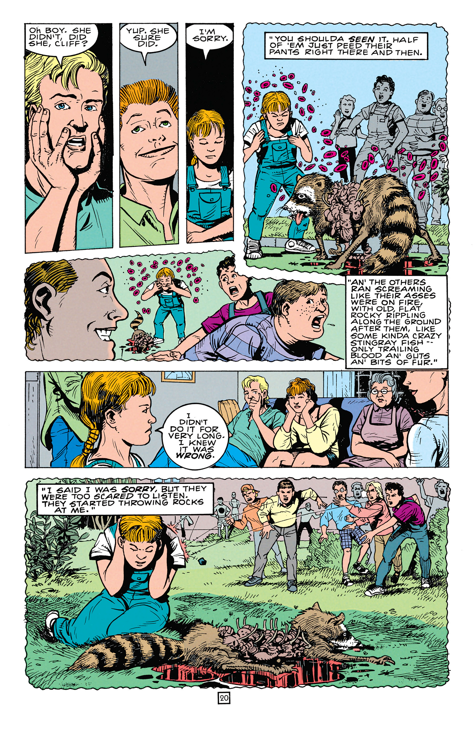 Read online Animal Man (1988) comic -  Issue #64 - 21