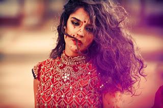 Red Designer Ghagra Choli (7).jpg
