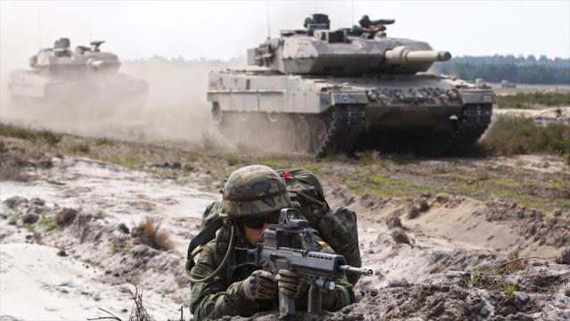 """España envía 300 fuerzas a Letonia para """"contrarrestar a Rusia"""""""