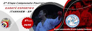 Campeonato Paulista de Karate - 1ª Etapa