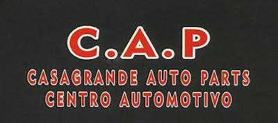 C.A.P CASAGRANDE AUTO PARTS CENTRO AUTOMOTIVO Rua. Prof. Francisco Valio, 1315 Centro - Itapetininga - SP tel: (15) 3272-6131