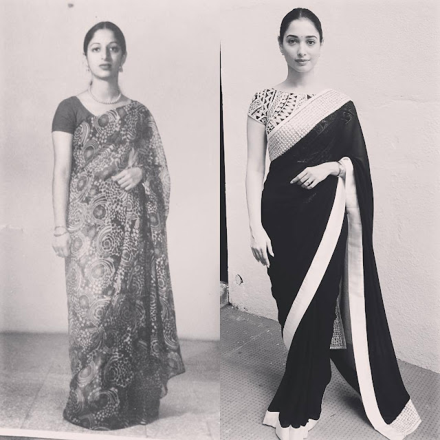 Tamanna and her mother picture