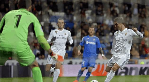 Cuplikan Pertandingan Real Madrid Hajar Getafe