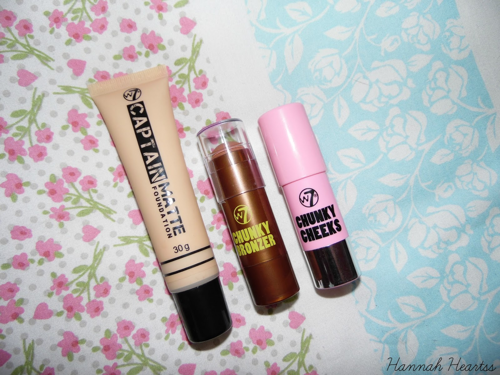 Contouring With W7 Cosmetics