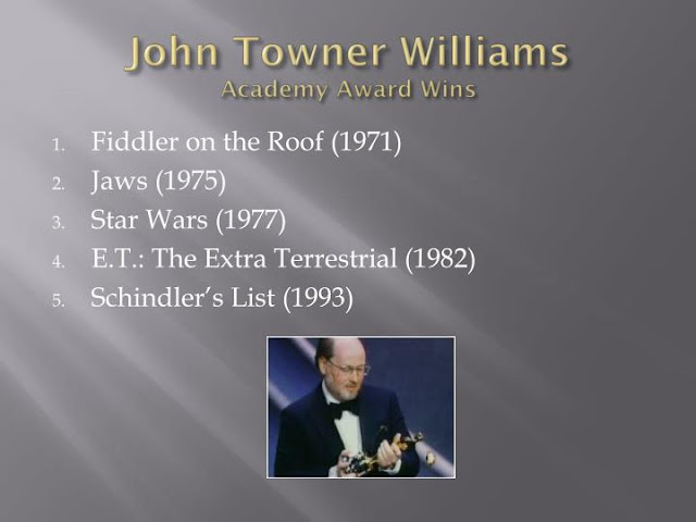 john towner williams academy award wins