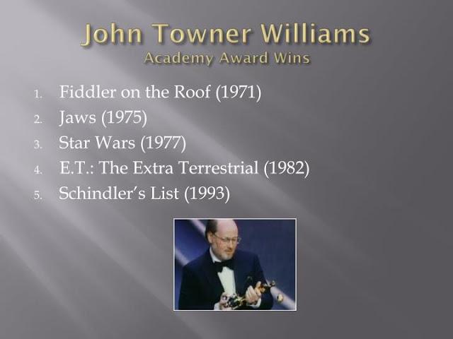 john towner williams academy award wins
