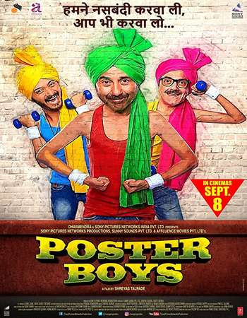 Poster Boys 2017 Full Hindi Movie Download