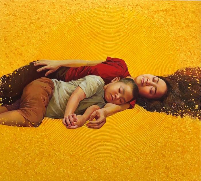 Вьетнамский художник. Lim Khim Ka Ty