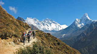 Himalaya Protects India from cold winds