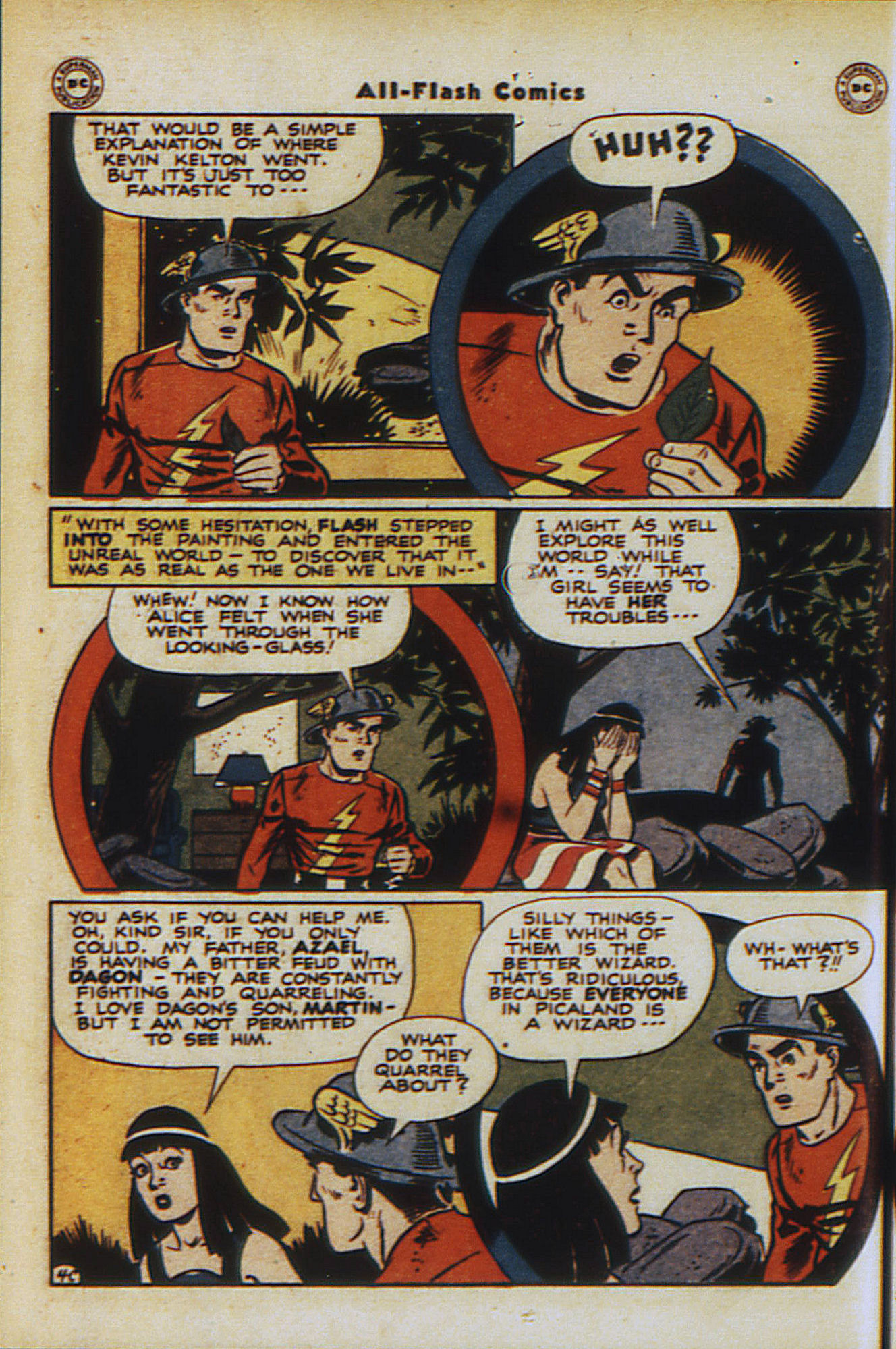 Read online All-Flash comic -  Issue #30 - 42