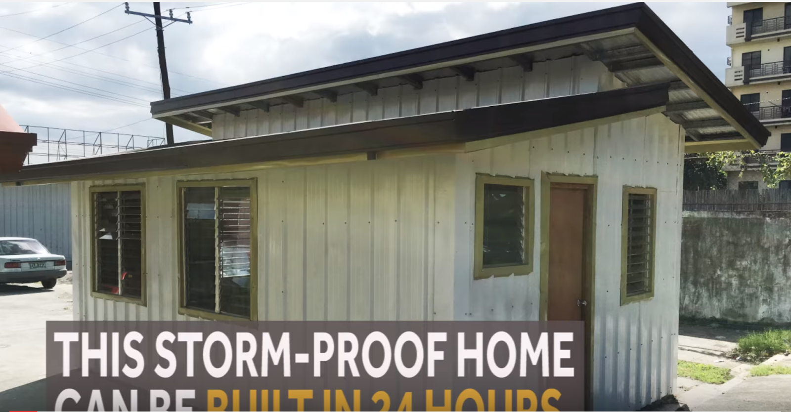 For sale bahay tibay php145 000 storm proof house in for Hurricane proof home designs
