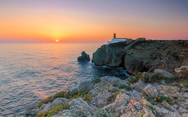 Ponta de São Vicente no Algarve