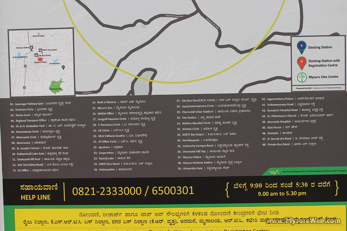 Trin Trin Hubs in Mysore