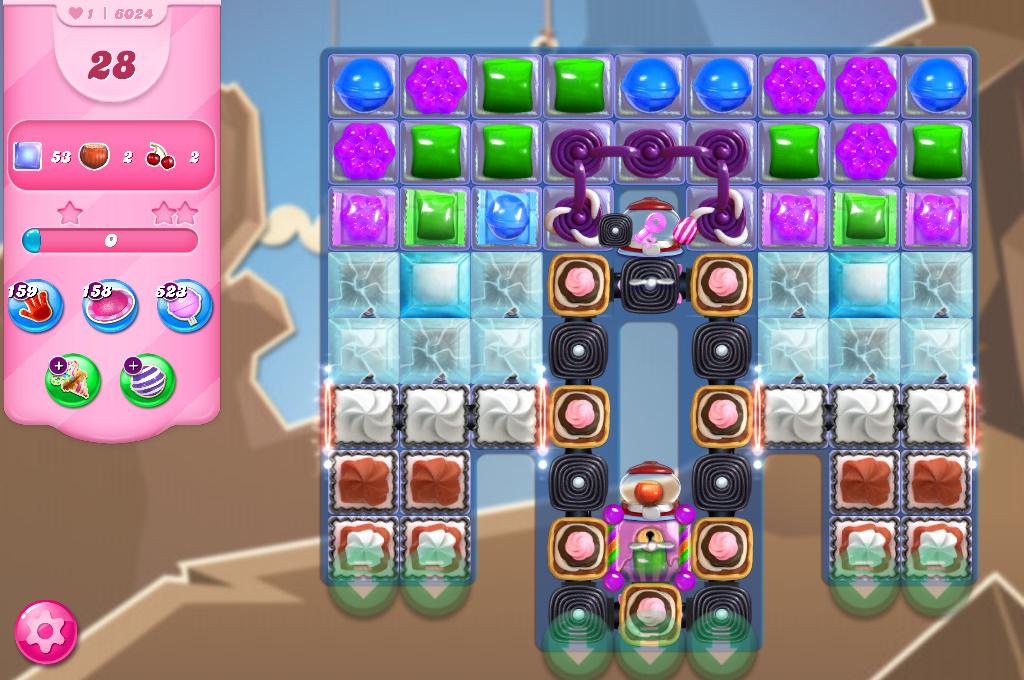 Candy Crush Saga level 6024