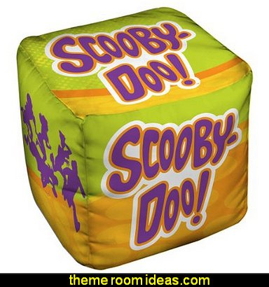 Scooby Doo Running Scared  Ottoman