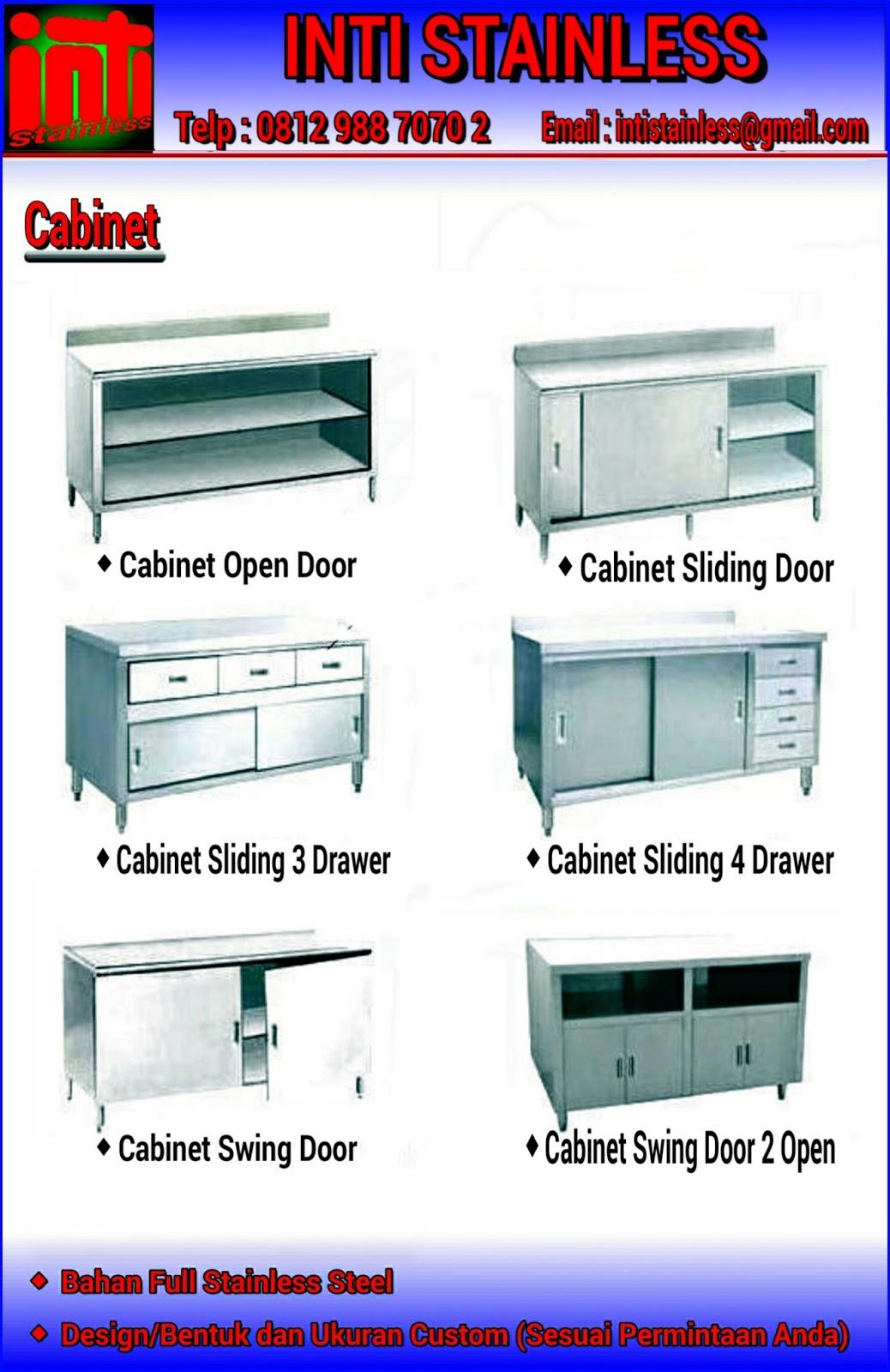 Jual Meja Stainless Dan Peralatan Dapur Restoran Dari Kitchen Equipment Custom