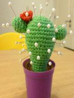 patron gratis alfiletero cactus de crochet