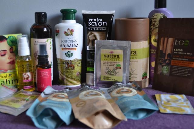 Wielki haul włosowy- kosmetyki naturalne do włosów ♥ BJUTI CZWARTEK