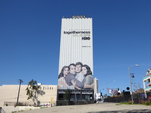 Giant Togetherness season 2 billboard Sunset Strip