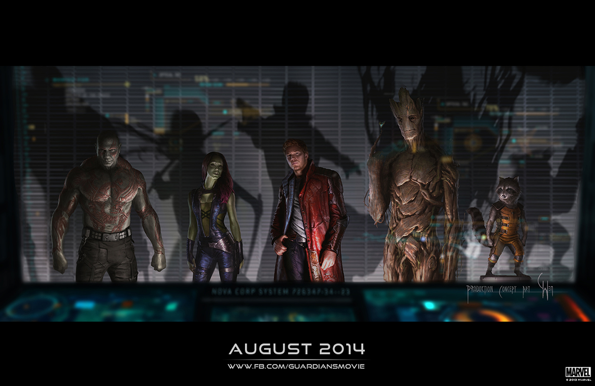 The Blot Says Sdcc 13 First Look Guardians Of The