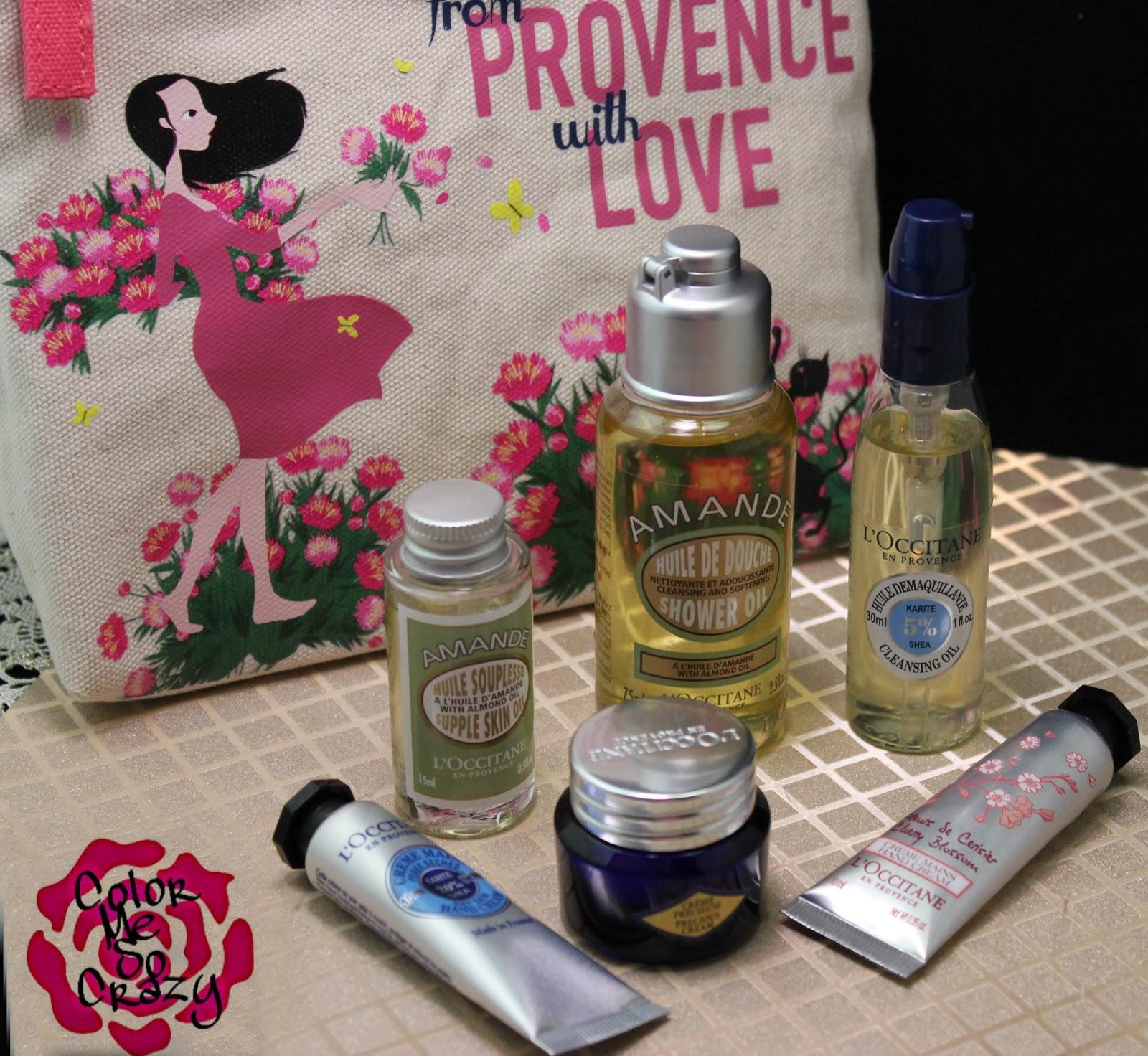 LOccitane Beautiful Skin Essentials Best Of Set Birthday Bag
