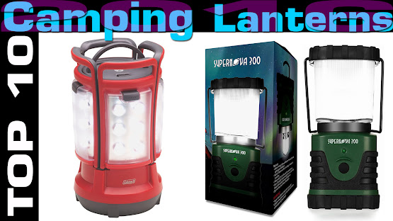 Top 10 Review Products-Top 10 Camping Lanterns 2016