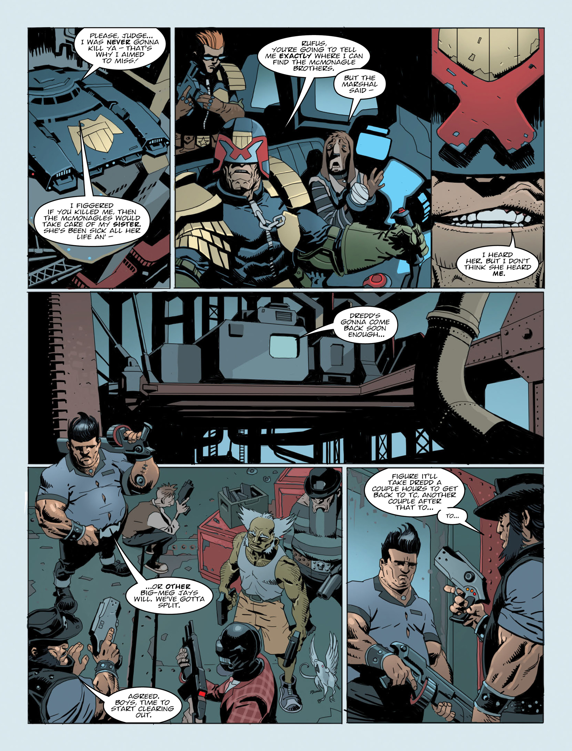 Read online 2000 AD comic -  Issue #2014 - 5